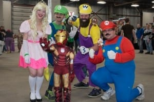Some impressive cosplayers attended this first ever FanExpo. / Allan Hall