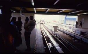 Scarborough's current LRT-type experience. It's not good./ Skeezix1000