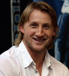 Keep smiling Stammer, the Hart Trophy might be in your future./Lisa Gansky