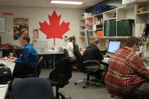 Working hard/ Haley Klassen