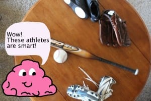 Not all athletes are dumb jocks./Haley Klassen