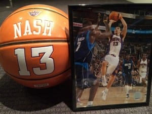 A personal shrine to Canada's greatest basketball player./Matt Wincherauk