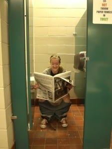 Loving the pooping life! / Brett Nielsen