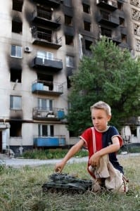 Experts say kids must be exposed to the conflict in order to extend it./ Pryshutova Viktoria