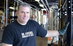 Rebellion Brewing brew master Jamie Singer says there's lots of room for growth in the Saskatchewan craft beer market. / Evan Radford
