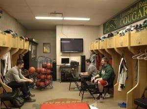 Happy, healthy locker room./ Brett Nielson