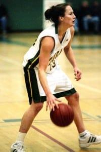 No one dominated like Cymone Bouchard./ University of Regina