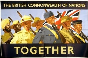 not a good arrangement - the british empire would use soldiers from one region of empire to suppress indigenous peoples in other regions
