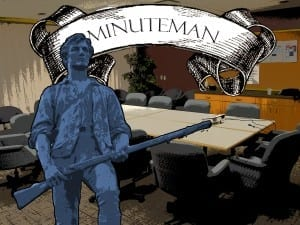 Our intrepid Minuteman braves boredom to bring you your URSU update