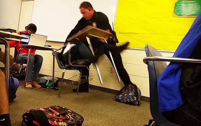 Police Attack Student - Reginald SeabrooksWEB