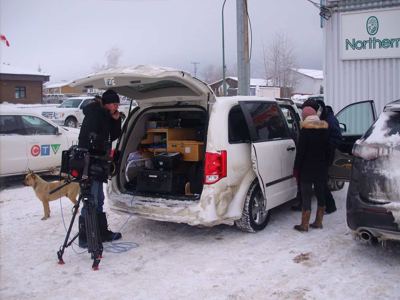 Media descends on La Loche in the wake of last month's violence -- photo via Wiki Commons