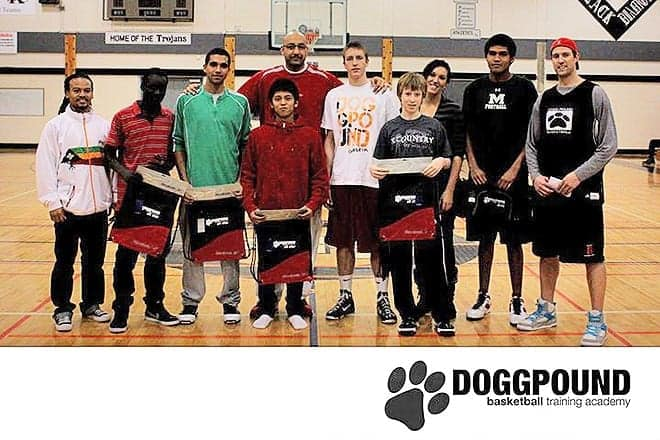 Count the angsty teenagers in this picture./ Doggpound Basketball