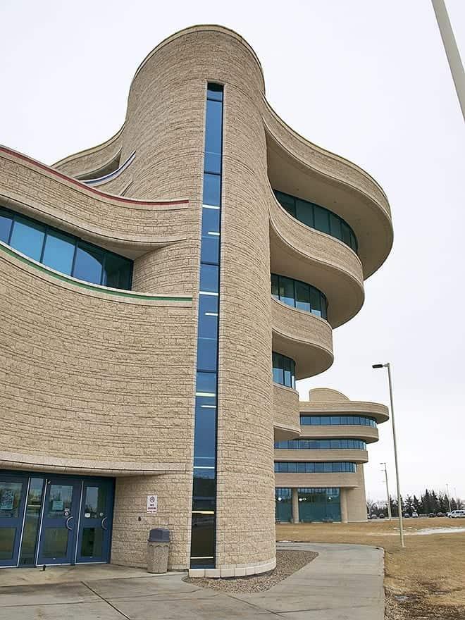 FNU may be broke, but that building is still Tony Stark-level cool. Photo - Brett Neilsen
