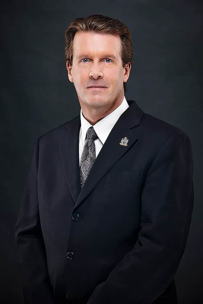 Sources confirm that Mayor Michael Fougere looks just a little bit like Steve Carell. Photo - City of Regina