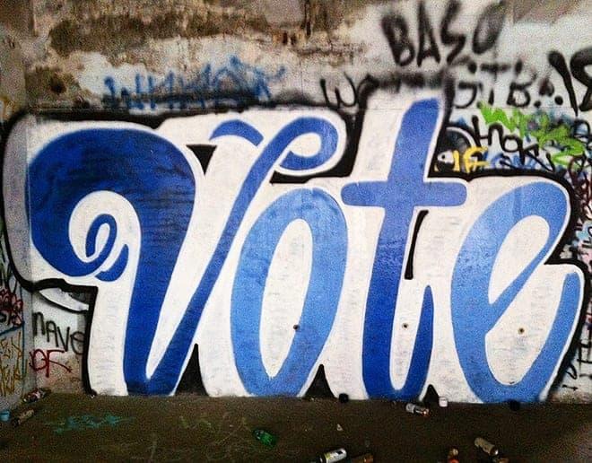 Seriously, vote. [photo by Kodak Views via Flickr]