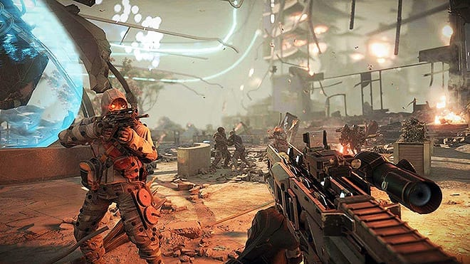 This is the new game, it looks a lot better than the first one by Sony