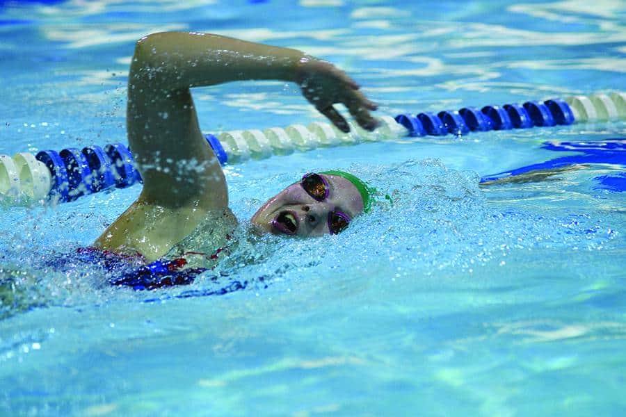 Cougars prepare for swimming championship University of regina swimming pool
