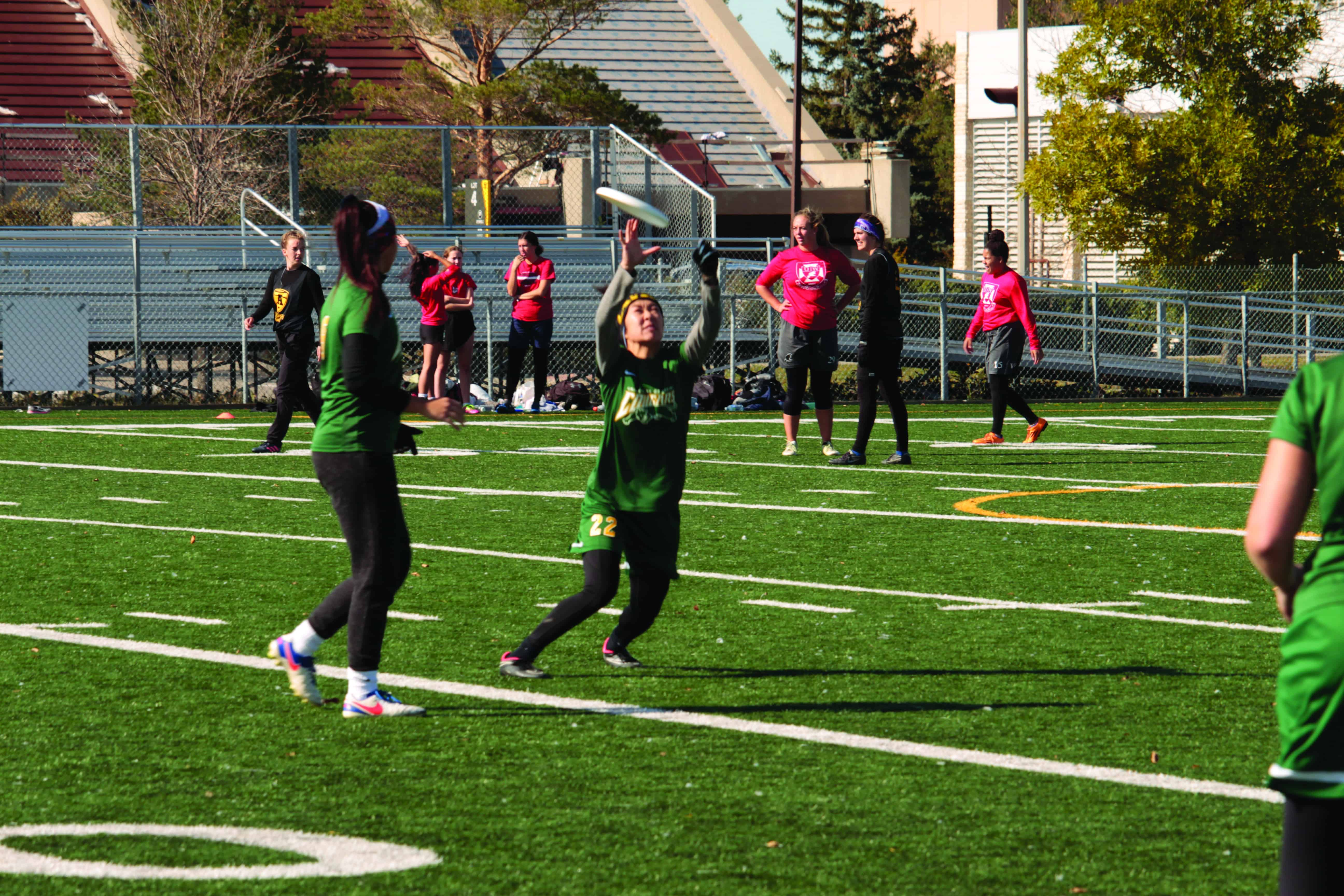 Ultimate Frisbee takes on conference ahead of Nationals