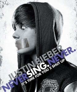 One of the less offensive Bieber hate pics