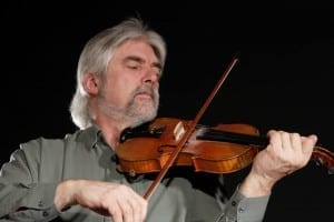Gordon Stobbe's passion for the fiddle is obvious