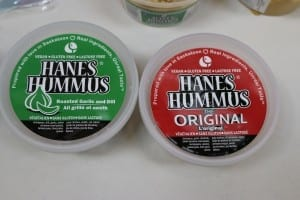 Lovely local hummus