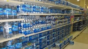 Ah, yes, I remember the bottled water aisle, said no one ever