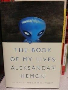 The blue creature scares me . . .