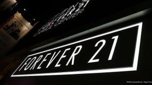 Forever 21 – always sleek and stylish.