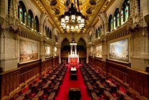 The Senator Chambers in Ottawa