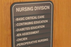 """""""Nursing education is research focused and responsive to the healthcare system.  Polytechnic designation acknowledges that"""" – Joyce Bruce  / Matthew Barre"""
