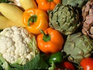 So much veg...om nom nom / Dana Payne