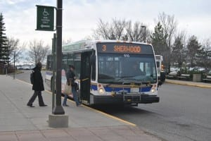 U of R students have previously rejected a U-Pass system in 2009. / Alec Salloum