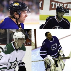 Luongo, Vanek, Gaborik and Hemsky were all moved last deadline. Who moved this time around?/ Brett Nielson