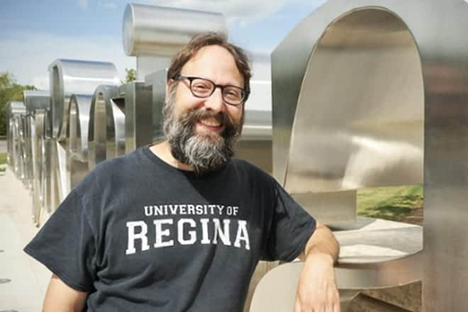 Marc and the giant sign  by the university of regina