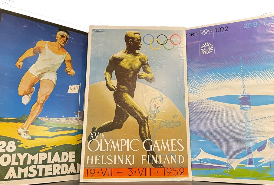 1928, 1952, and 1972 Olympic Posters